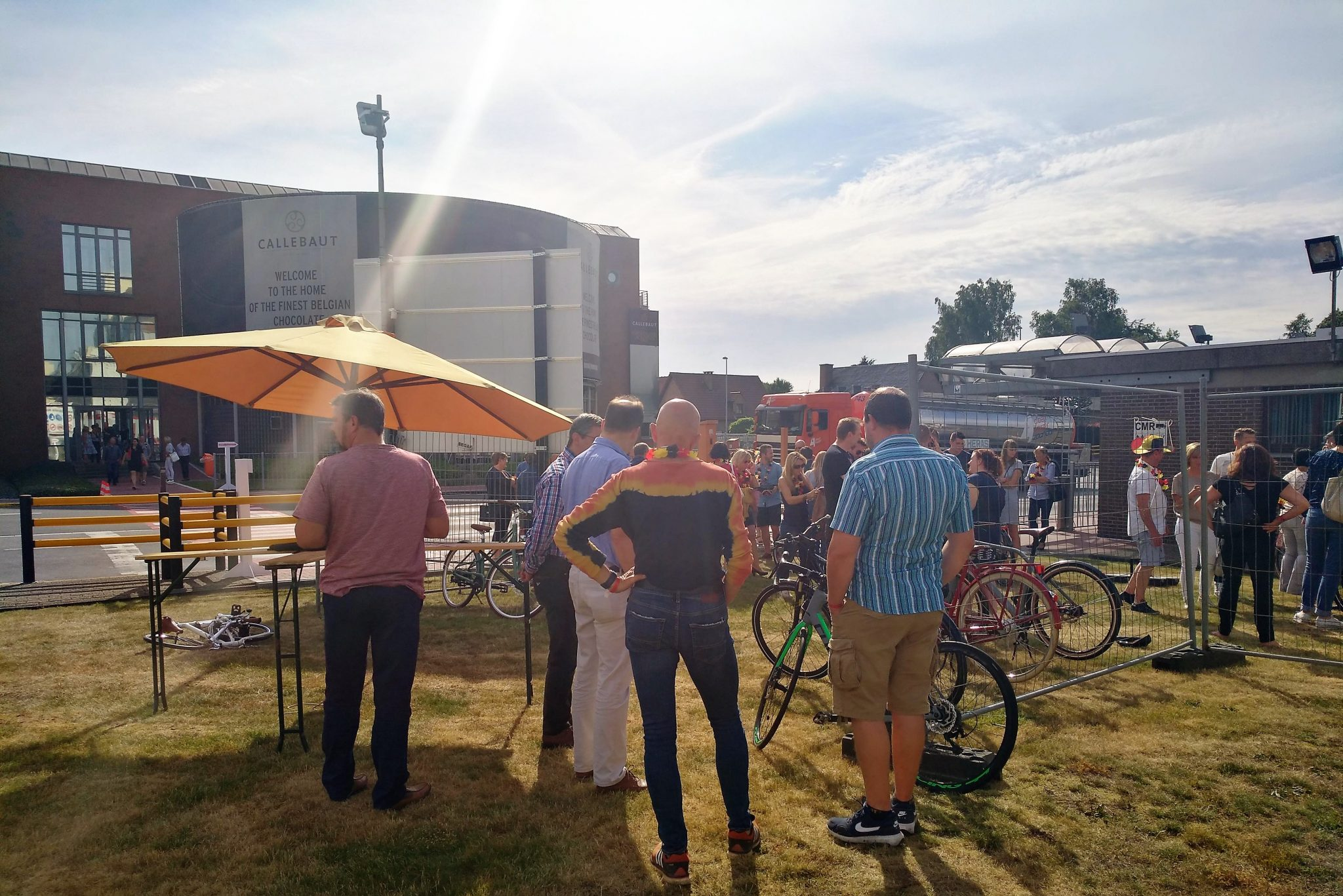 Le vélo d'entreprise connaît un grand succès parmi les employées chez Barry Callebaut
