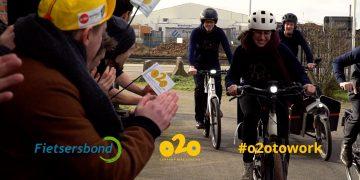 Klap mee met o2o op nationale Applausdag voor de fietspendelaar!
