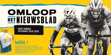 Win een o2o wieleroutfit dankzij de 'Omloop Het Nieuwsblad'