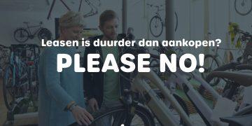 De fietsleasemythe ontkracht: Een fiets leasen is duurder dan een fiets kopen