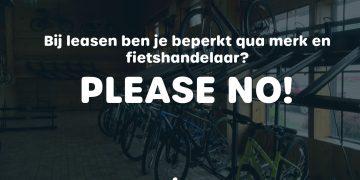 De fietsleasemythe ontkracht: Bij fietsleasing is er een beperkt aanbod aan merken en fietshandelaars