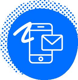 Helpdesk via e-mail and telephone