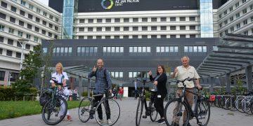 AZ Jan Palfijn als eerste Gentse ziekenhuis aan de slag met fietsleasing