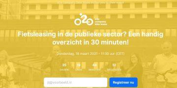 Webinar: Fietsleasing in de publieke sector