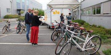 A flourishing cycling culture at BOSS paints in Waregem