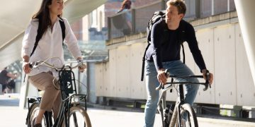 De zes voordelen van fietsen naar je werk